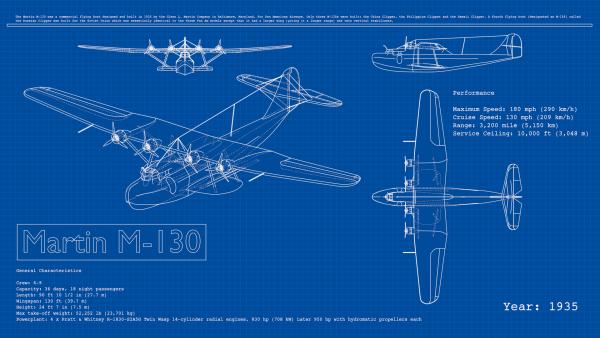 Doc26manualrenderfreestyle blenderwiki blueprint render of martin m 130 from 1935 by lightbwk cc0 warning heavy file designed for stress test blender to the limits may crash blender malvernweather Images